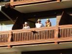 Our sunny balcony