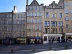 Tweeddale Court, a traditional Edinburgh Tenement building