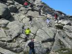 arrampicata sul Limbara