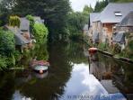 Les lavoirs sur le Trieux dans la ville de Pontrieux