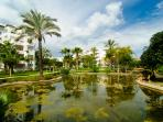 Costalita private urbanization with gardens