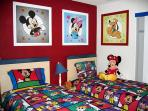 Mickey & Friends Childrens Themed Room