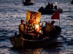 Lo sbarco della madonna di Custonaci ( ultima settimana di Agosto )