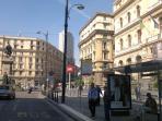 Piazza Bovio: bus and subway  stops
