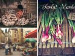 Don't miss market days in the gorgeous medieval town of Sarlat.