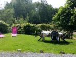 la Thiérachienne coté jardin et relax