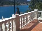 Balcony of the apartment to rent, croatia holiday rental