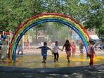Playground 2 blocks away