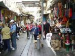 The famous flea market is a short walk away