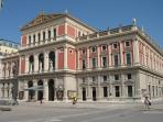 Concert hall Musikverein - very near, short walk away