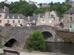 le vieux pont de Dinan lanvallay