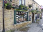 Original Bakewell Pudding shop in Bakewell town centre