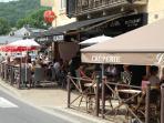 terrace in Montignac / terras in Montignac