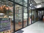 Coffee shop and Laundry at ground floor