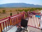 The view from Casa Estrella's balcony