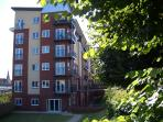 Badgers Grove Holiday Apartment is at first floor level but has easy access from street level