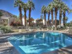It is a beautiful day to take a swim at the pool!