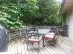 Beautiful private deck