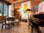 Piano in the Villa