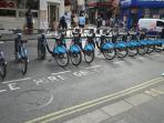 Bikes to hire closeby