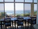 Dinning Area - Overlooking the Main Beach and RockPool