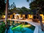 Outdoor Pool and lounge area