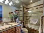 Upstairs Full Guest Bathroom