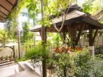 Sala in the private garden