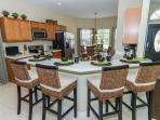 Kitchen with Breakfast Nook in the rear