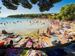 Slanica beach - most famous sany beach on the island.