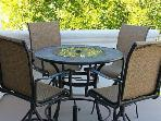 New Patio Furniture-Seats 4