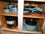 We have a nice selections of cookware for you