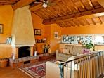 Living room - Villa Il Colle di Sotto
