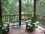 Screened Porch overlooking creek