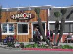 Hang out at the HANGOUT with views of the pier & beach