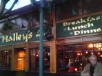 Experience a perfect pint sat O'Malley's on Main