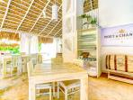 Our residence offers international restaurant Tronco Beach