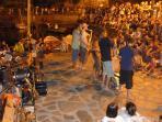 Evening jazz in Collioire