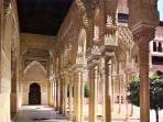 Magnificent Alhambra in Granada