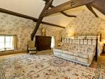 The Super King Sized en-suite Bedroom
