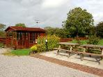 Summer House and outdoor Seating