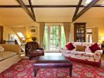 The Large Sitting Room Looking out into the garden