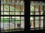 View of porch from interior