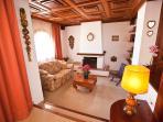 Villa Marlis Ibiza. Main living room. http://www.villamarlis.com