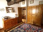 Top Floor Double Bedroom with Stone Seat