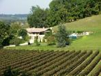 Francesa belle Villa calme avec grande piscine