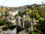Medieval town of Fougeres