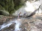 river walk Gola di fiastra valley