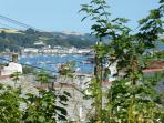 Views over the water to Flushing, St Mawes