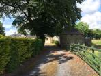 Charming countryside location - the only sound will be from the local river and local cattle